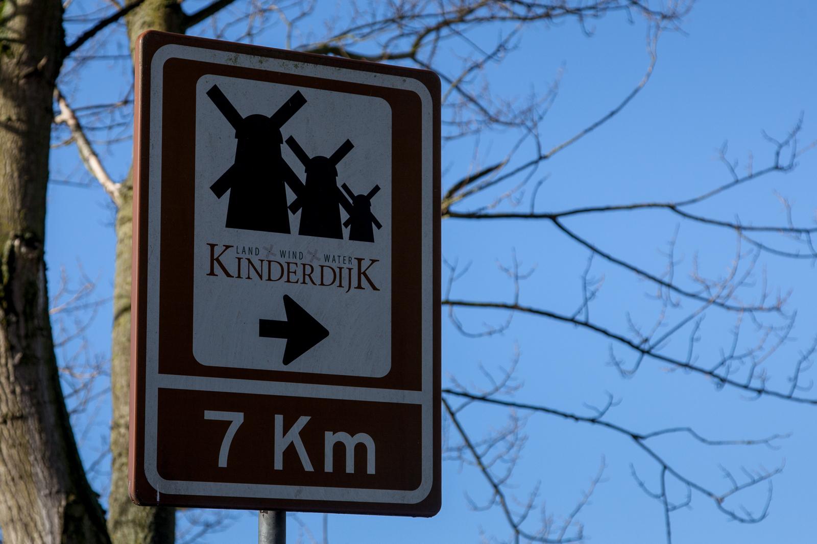 Onderweg naar Kinderdijk